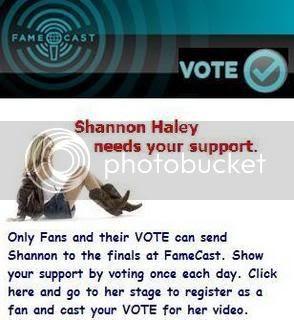 Shannon Haley's Famecast Stage