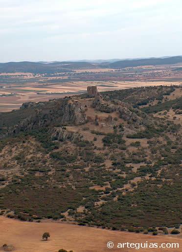 Castillo de Salvatierra. Campo de Calatrava. Ciudad Real