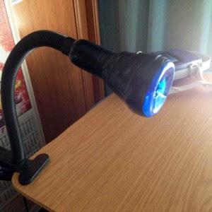 Paso 11 - lámpara UV