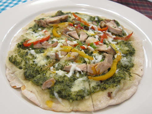 tourne chicken fajitas pizza