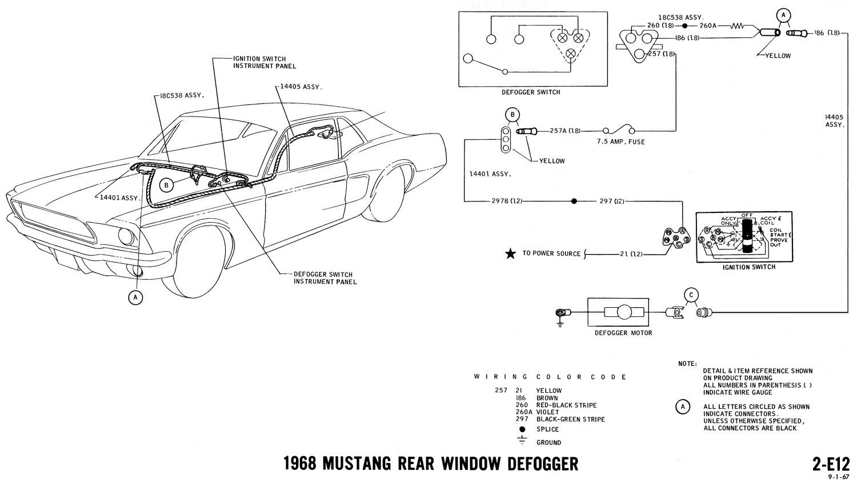 Averagejoerestoration Com Wp Content Gallery 1968 Mustang Wiring Diagram
