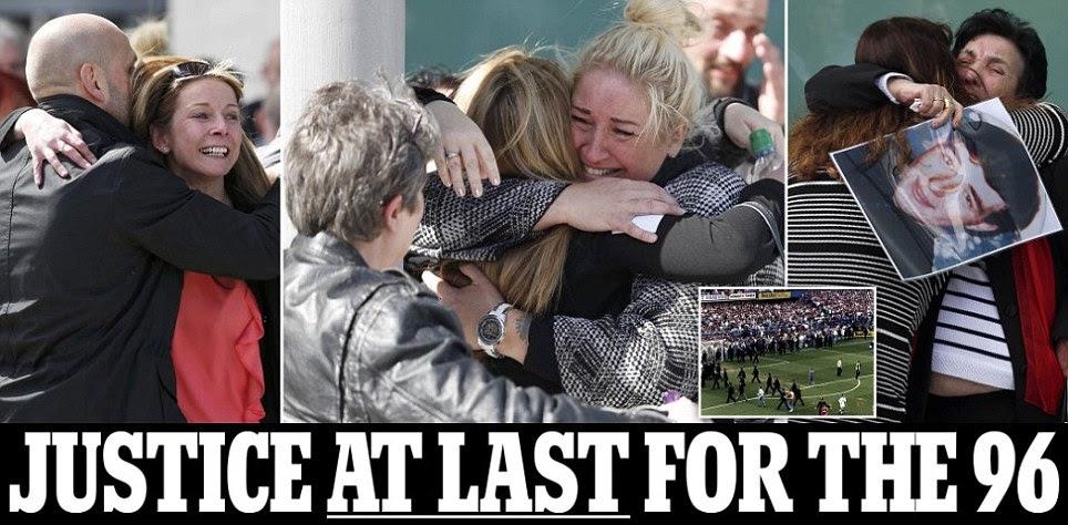 Hillsborough jury finds fans were unlawfully killed