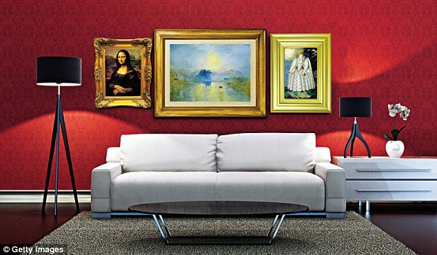 Browse the world's great works of art from the comfort of your sofa. From left to right: the Mona Lisa (Louvre), Turner's Norham Castle, Sunrise (Tate) and the Ditchley Portrait (National Portrait Gallery)