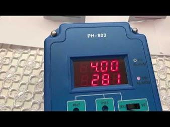 PH 803 Calibration Process