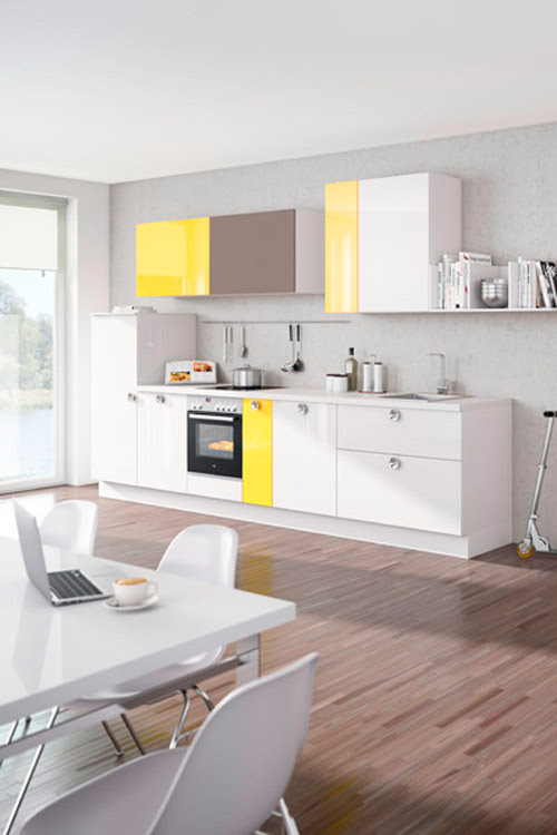 clever-storage | Nolte kitchens - fresh colours for newcomers