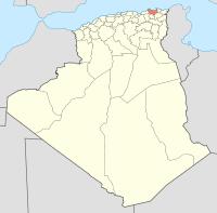 Algeria 21 Wilaya locator map-2009.svg