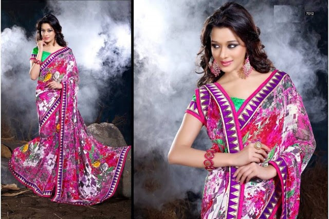 Womens-Girl-Wear-Beautiful-Sari-New-Fashion-Color-Printed-Saris-by-Prerna-Poly-Georgette-Sarees-13