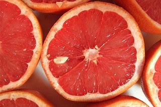 Ruby Reds - Sliced grapefruit