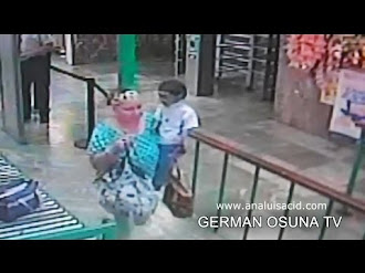 Duende captado en video en una central de autobuses / Goblin caught on tape in a mexican bus central