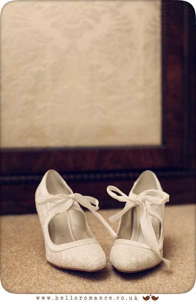 Vintage Shoes - Hadleigh Wedding Photography Suffolk- Hello Romance