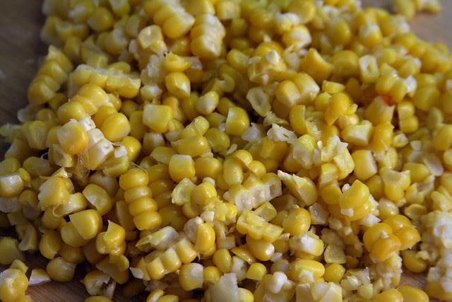 Granos de maíz