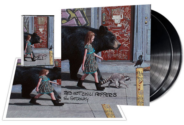 Red Hot Chili Peppers anuncia album The Getaway