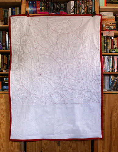 Lobster Origami Quilt - White