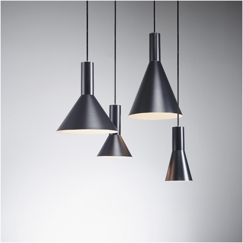 Diolumia Suspension Ampoule E27 Pour Cuisine Salle A Manger Chambre Couloir Suspension Design Dome Grise En Alu Style Moderne D28 H21cm Suspensions