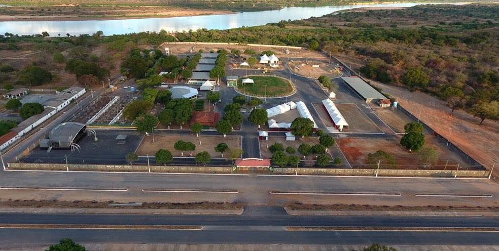 Parque de exposições de Januária (Foto: Prefeitura de Januária/Divulgação)