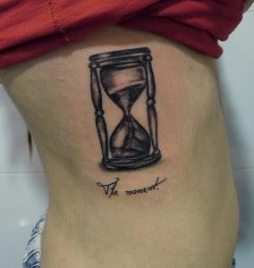 Tattoo Reloj De Arena