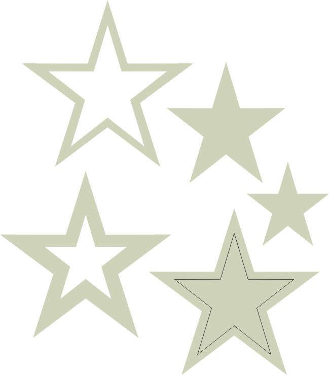 Stars Multi Pkt 5