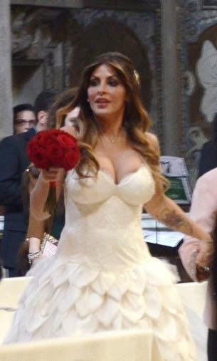 sposa in chiesa 2 Guendalina Tavassi e Umberto D Aponte