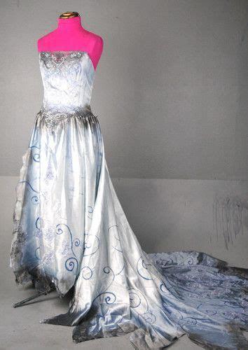 Tim Burton Corpse Bride Wedding Zombie Dress gown Costume