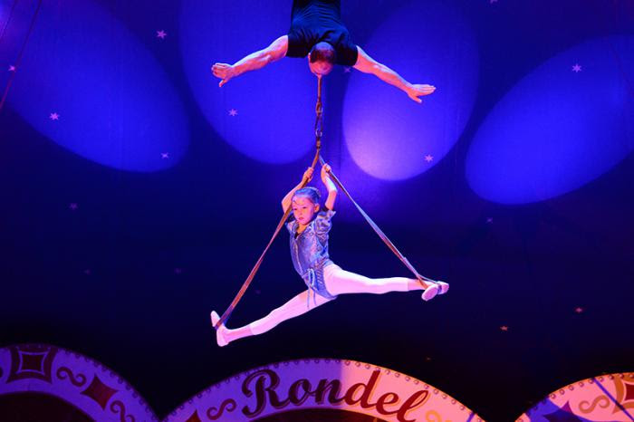 ausmalbilder zirkus trapez
