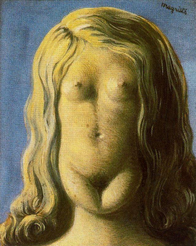 Rape, 1948 Rene Magritte