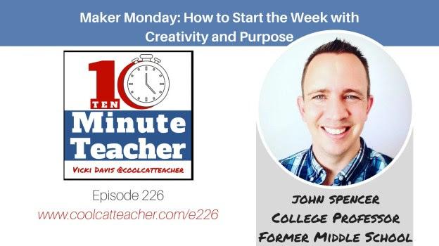 Maker Monday with John Spencer