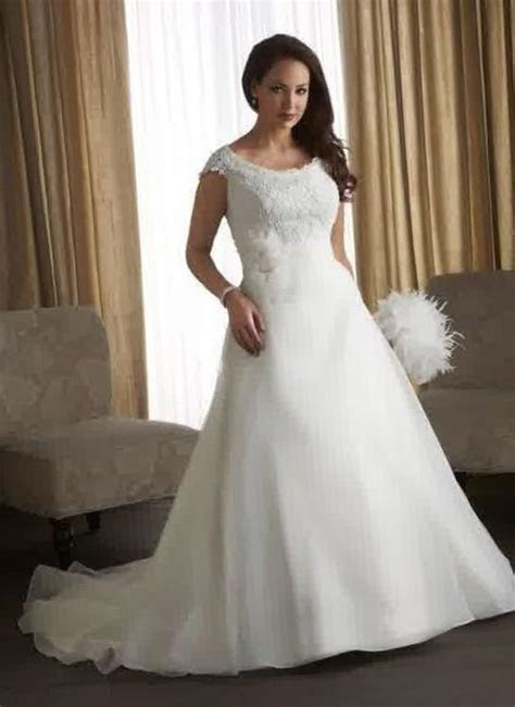 Plus size empire waist wedding dresses   PlusLook.eu