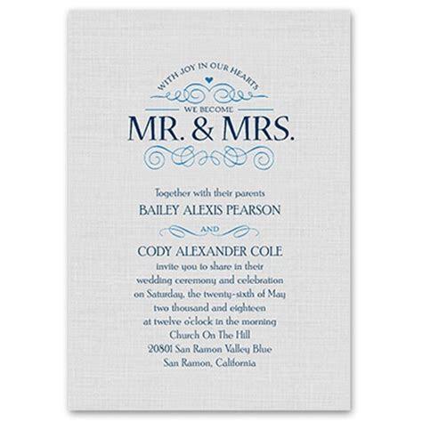 Joyful Heart Wedding Invitation   Romantic Invites at Ann