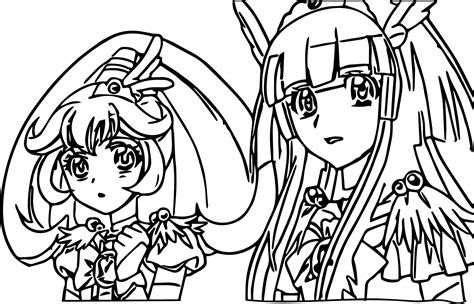 glitter force coloring page - roseanne tillman