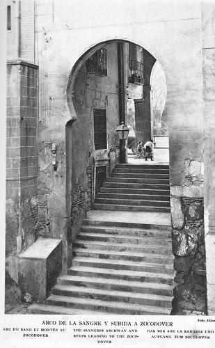 Arco de la Sangre a principios del Siglo XX. Foto Aldus.