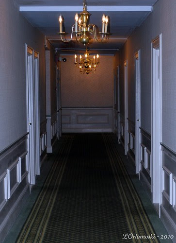 Fifth Floor Hallway at the Hawthorne Hotel