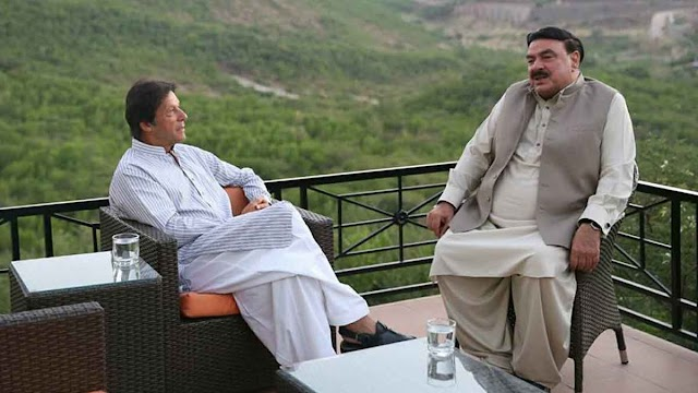 इमरान के मंत्री शेख रशीद ने कहा, मौलाना ने अब धरना दिया तो धर लिए जाएंगे