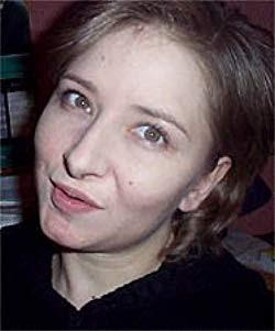 Headshot for author Sharon Karaa