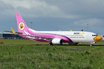 Nok Air Boeing 737-8AS HS-DBM (msn 33594) SNN (Malcolm Nason). Image: 912374.