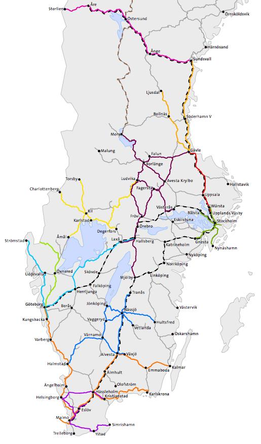 sj karta Sj Tåg Karta | Karta