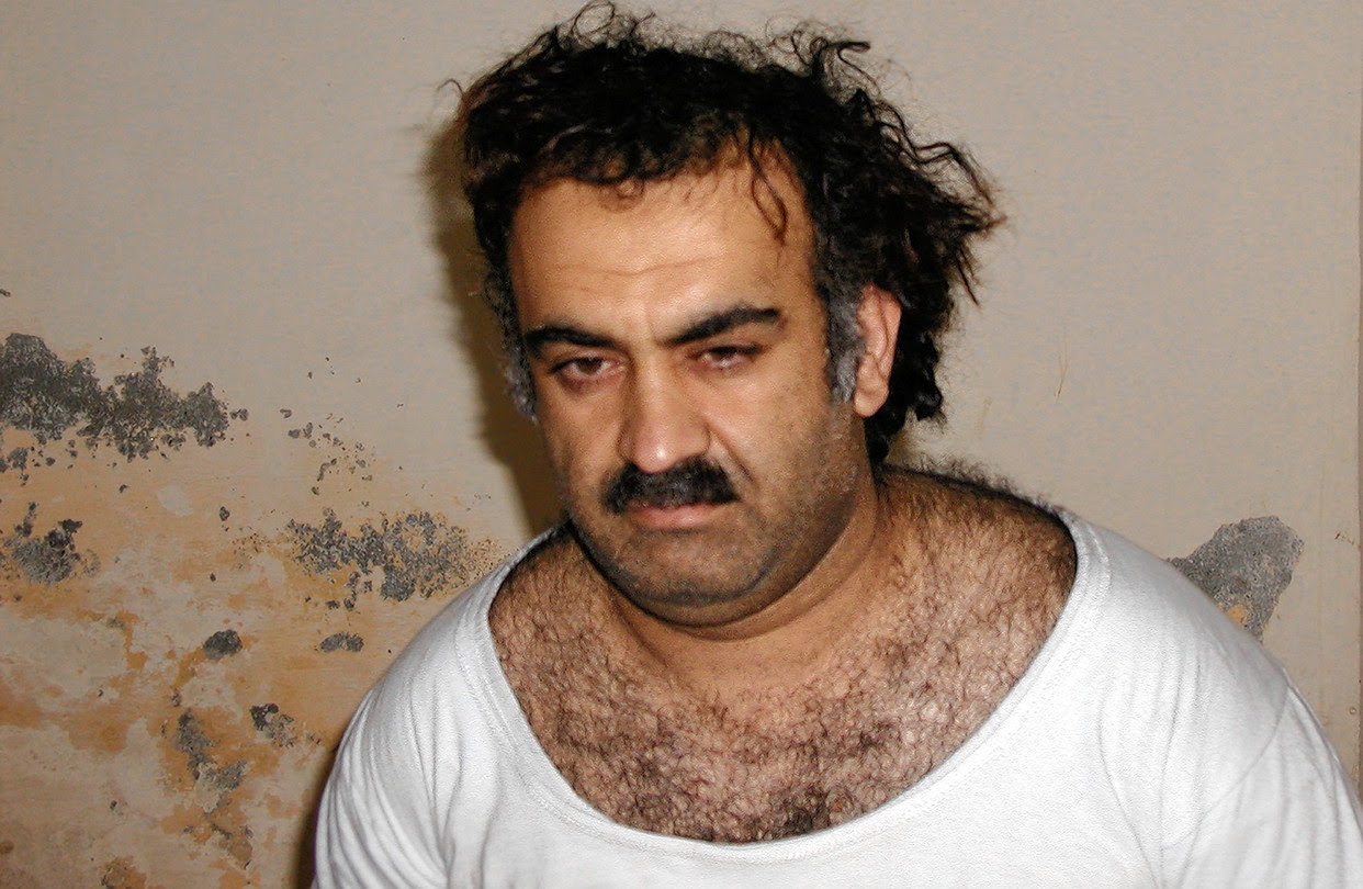 Khalid Shaikh Mohammed after capture