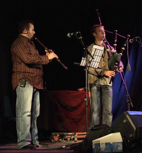 Nedyalko Nedyalkov (kaval) & Fraser Fifield (bagpipes) 2