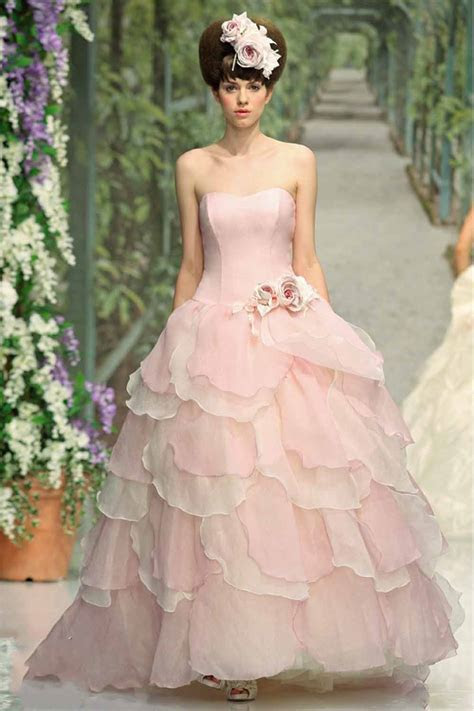 Pink Wedding Dress   Dressed Up Girl