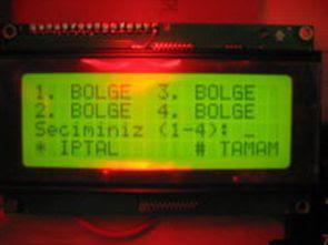 Điều khiển bốn khu vực của động cơ DC với PIC18F4520