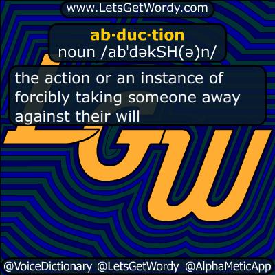 abduction 10/17/2017 GFX Definition