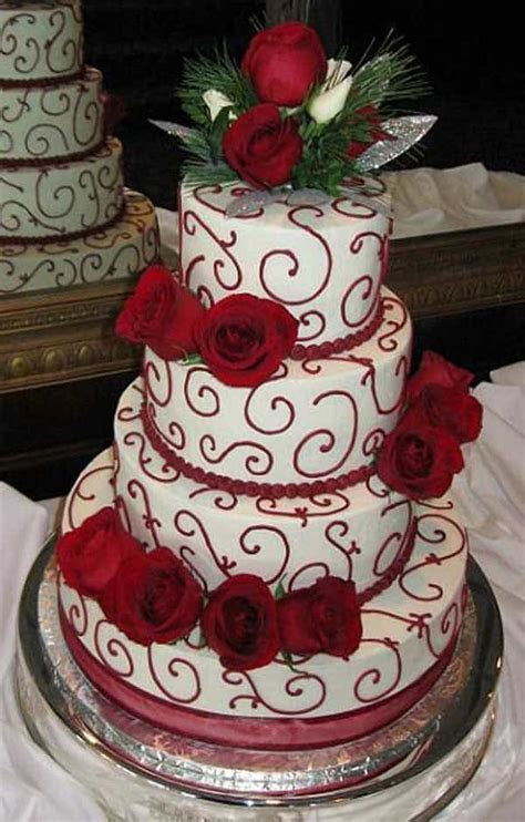 Top 33 Fantastic Henna Wedding Cake Designs ? SheIdeas