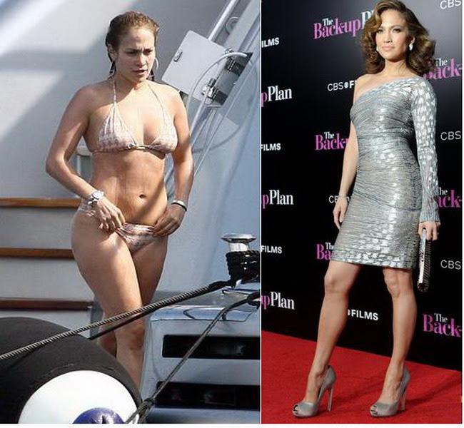 Jennifer Lopez a slabit cu dieta DUKAN!