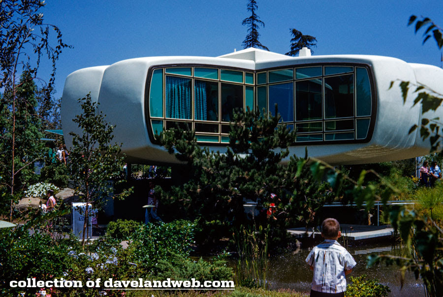 Disneyland Monsanto House of the Future 1950s photo