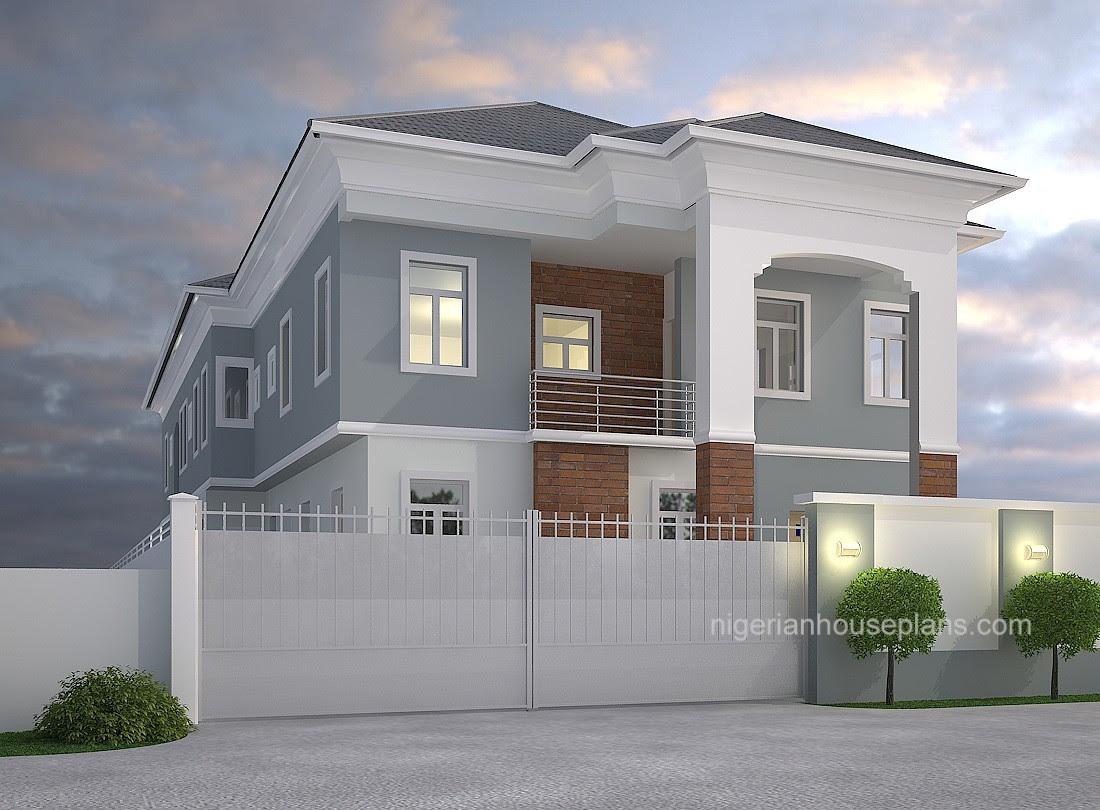 2 Bedrooms - NigerianHousePlans