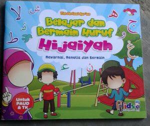 Buku Anak Belajar Bermain Huruf Hijaiyah Mewarnai Menulis Toko