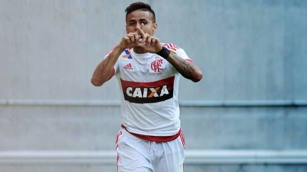 Everton fez o gol da vitória flamenguista na Arena Pernambuco