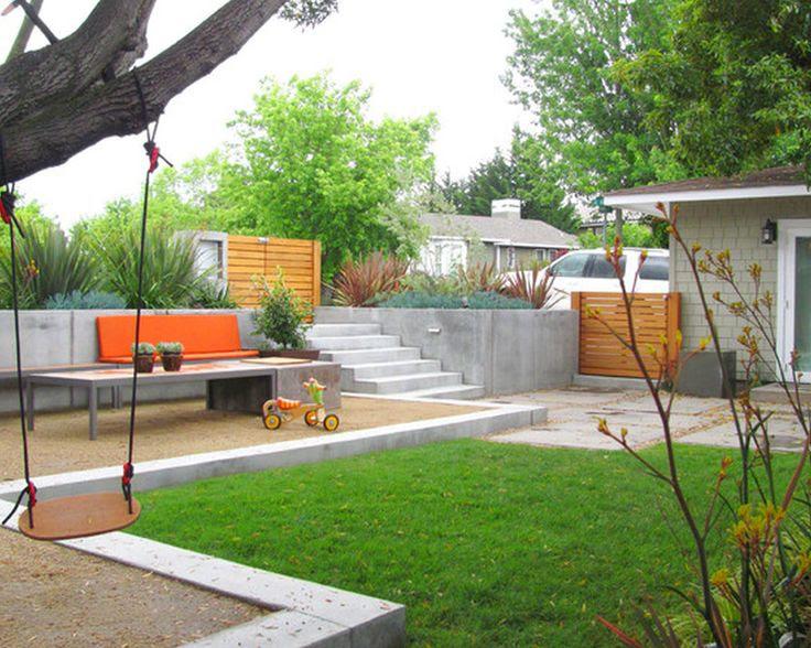Modern Back Yard Landscaping Ideas