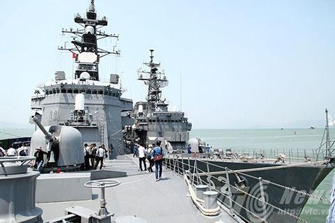 tàu chiến,cảng Tiên Sa,quân sự,tàu khu trục,tàu sân bay