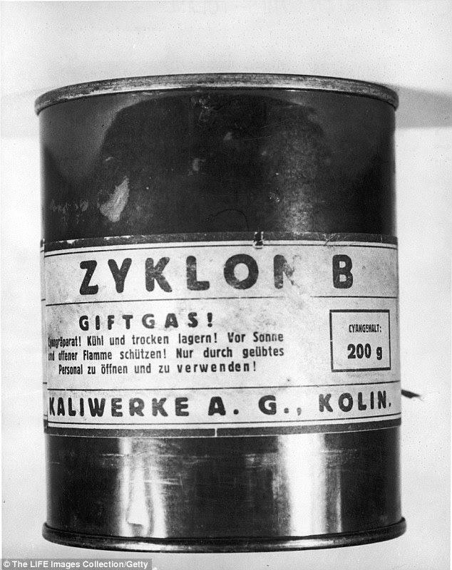 Αποτέλεσμα εικόνας για Zyklon B
