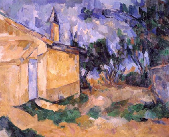 Paul Cézanne - Le Cabanon de Jourdan.jpg